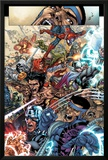 Avengers: The Initiative No.19 Group: Spider-Man, Crusader, Captain America, Wolverine and Thor Posters by Harvey Tolibao