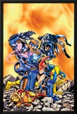 Avengers No.17 Cover: Wasp, Justice and Warbird Posters by Jerry Ordway