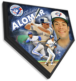 Roberto Alomar Home Plate Plaque Wall Sign