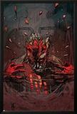 Daredevil V2, No.56 Cover: Daredevil Posters by Tom Fleming