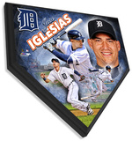 Jose Iglesias Home Plate Plaque Wall Sign