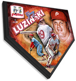 Greg Luzinski Home Plate Plaque Wall Sign