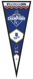 Kansas City Royals 2015 World Series Championship Pennant Framed Memorabilia