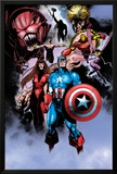 Avengers No.99 Annual: Captain America, Iron Man, Wasp and Avengers Prints by Leonardo Manco