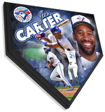 Joe Carter Home Plate Plaque Wall Sign