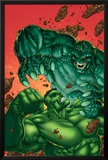 Marvel Age Hulk No.4 Cover: Hulk and Abomination Prints by John Barber