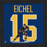 NHL Jack Eichel, Sabres - Photographic Representation of the Player's Jersey Framed Memorabilia