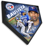Jose Bautista Home Plate Plaque Wall Sign