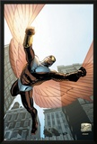 Captain America And The Falcon No.7 Cover: Falcon Posters by Joe Bennett