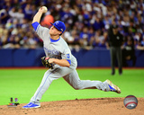 Kris Medlen Game 3 of the American League Championship Series Photo