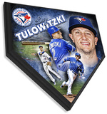 Troy Tulowitzki Home Plate Plaque Wall Sign