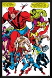 Giant-Size Avengers No.1 Group: Giant Man Prints by John Buscema