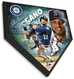 Robinson Cano Home Plate Plaque Wall Sign