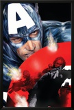 Captain America No.37 Cover: Captain America Print by Jackson Guice