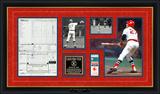 Carlton Fisk 1975 World Series Game 6 Replica Scorecard & Ticketstub Framed Memorabilia