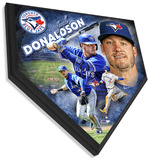 Josh Donaldson Home Plate Plaque Wall Sign