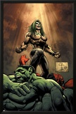 Hulk No.18 Cover: Doc Samson, Hulk and Rulk Posters by Whilce Portacio