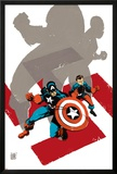 Captain America: White No.0 Cover: Captain America and Bucky Poster by Tim Sale