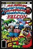 Captain America And The Falcon No.203 Cover: Captain America, Falcon, Marvel Comics and Thor Posters by Jack Kirby