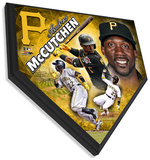 Andrew McCutchen Home Plate Plaque Wall Sign