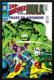 Tales to Astonish No.81 Cover: Hulk and Boomerang Posters by Dick Ayers