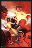 Marvel Divas No.4 Cover: Hellcat, Black Cat, Firestar and Photon Poster