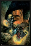 Ghost Riders: Heavens On Fire No.3 Cover: Ghost Rider Posters by Das Pastoras