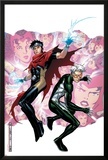 Young Avengers Presents No.3 Cover: Wiccan and Speed Print by Jim Cheung