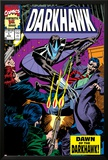War Of Kings: Darkhawk No.1 Cover: Darkhawk Prints by Mike Manley