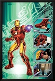 Iron Man: The End No.1 Cover: Iron Man Posters by Bob Layton