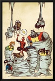 Marvel Adventures Spider-Man No.59 Cover: Spider-Man Prints by Skottie Young