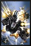 War Machine No.1 Cover: War Machine Poster by Leonardo Manco