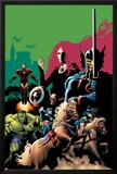 Marvel Adventures Avengers No.10 Cover: Captain America Posters by Stewart Cameron