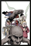 Omega: The Unknown No.4 Cover: Omega Print by Farel Dalrymple
