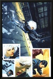 Sable & Fortune No.3 Cover: Silver Sable, Fortune and Dominic Posters by John Burns