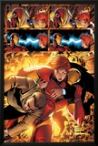 Marvel Adventures Iron Man No.3 Group: Iron Man, Pepper Potts and Virginia Print by Ronan Cliquet