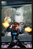Black Widow No.3 Cover: Black Widow Prints by Greg Land