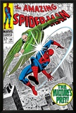 The Amazing Spider-Man No.64 Cover: Vulture and Spider-Man Fighting Posters by Don Heck