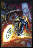 Ghost Rider Annual No.2 Cover: Ghost Rider Print by Mark Texeira