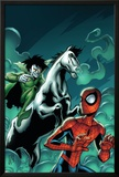 Marvel Adventures Spider-Man No.12 Cover: Spider-Man and Nightmare Posters by Mike Norton