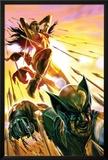 Dark Reign: Elektra No.4 Cover: Elektra and Wolverine Prints by Lee Bermejo