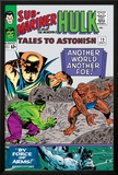 Tales to Astonish No.73 Cover: Hulk and Uatu The Watcher Print by Vince Colletta
