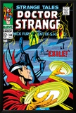 Strange Tales No.168 Cover: Dr. Strange and Yandroth Print by Dan Adkins