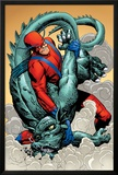 Marvel: Monsters On The Prowl No.1 Group: Giant Man and Grogg Prints by Duncan Fegredo