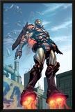 Iron Man No.89 Cover: Iron Man Prints by Pat Lee