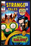 Strange Tales No.148 Cover: Dr. Strange, Ancient One and Kaluu Posters by Bill Everett