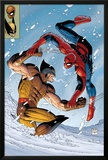 What If Spider-Man Vs. Wolverine No.1 Cover: Spider-Man and Wolverine Posters by John Romita Jr.