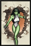 She-Hulk No.1 Cover: She-Hulk Posters by Adi Granov