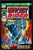 Ghost Rider No.1 Cover: Ghost Rider Poster by Gil Kane