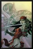 Dark Reign: Elektra No.3 Cover: Elektra Photo by Lee Bermejo